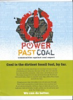 Power Past coal Logo